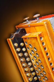 Free Detail Of An Old Accordion Royalty Free Stock Photos - 3516368
