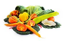 Free Bunch Of Different Vegetables Stock Photography - 3516402