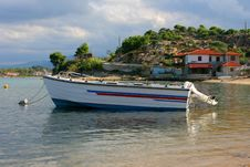Fishing Boat In Port Royalty Free Stock Images