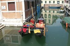 Free Venice Gondola1 Royalty Free Stock Photos - 3517058