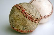 Free Two Baseballs Stock Image - 3517451