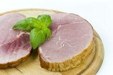 Free Smoked Ham Royalty Free Stock Photo - 3517515
