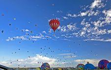 Albuquerque Ballon Fiesta Stock Photo