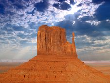 Free The Monument Valley Stock Images - 3518474