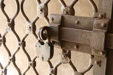 Free Old Padlock Royalty Free Stock Image - 3519336