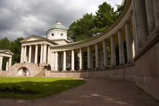 Free Colonnade And Chapel Stock Photos - 3519423