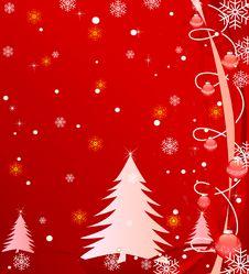 Free Abstract Christmas Vector Stock Image - 3519681