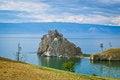 Free Lake Baikal- Shaman Rock Royalty Free Stock Photography - 35100307