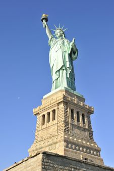 Free Liberty Statue, N.Y. Royalty Free Stock Photo - 35100035