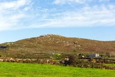 Cornwall Countryside Zennor Near St Ives England UK Royalty Free Stock Image