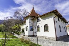 Cottage &x28;Monastery Resort&x29; Royalty Free Stock Photo