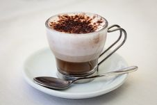 Free Silky Italian Coffee Latte Stock Image - 35105451