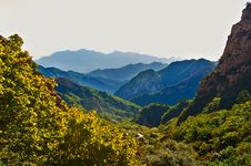 Free Layer Upon Layer Of Zu Mountain Royalty Free Stock Images - 35106769