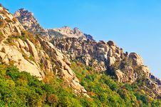 The Hillside Of Zu Mountain Royalty Free Stock Photography
