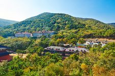 The Hotels Of Zu Mountain Royalty Free Stock Images
