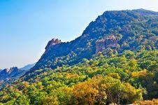 The Mountain Range Of Zu  Mountain Stock Image