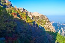Free The Towering Peak Of Zu Mountain Stock Images - 35107294