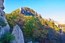 Free The Polychrome Mountains Of Autumn Zu Mountain Stock Images - 35107304