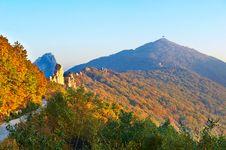 Free The Apsara Peak Sunset Autumn Stock Photography - 35107592