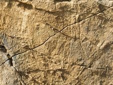 Free Cracked Sand Wall Royalty Free Stock Photography - 35109287