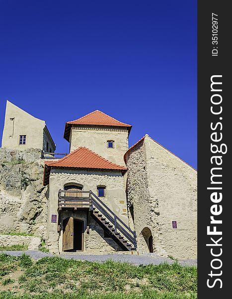 Rupea fortress &x28;transylvania romania&x29;