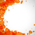 Free Colored Droplets Orange Royalty Free Stock Photo - 35111545