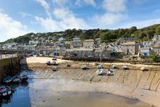 Mousehole Cornwall England UK Cornish Fishing Village Royalty Free Stock Images