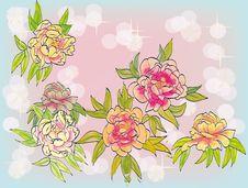 Free Flowers , Postcard . Stock Photos - 35115163