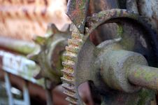 Old Rusty Gears Royalty Free Stock Images
