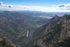 Free Spain. Catalonia. Montserrat. Stock Photos - 35118623