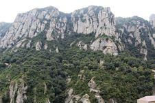 Free Spain. Catalonia. Montserrat. Royalty Free Stock Photos - 35118668