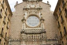 Free Spain. Catalonia. Montserrat. Stock Image - 35118981