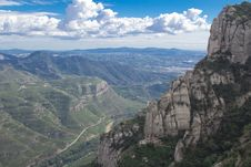 Free Spain. Catalonia. Montserrat. Stock Photos - 35119083