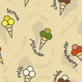 Free Ice Cream Seamless Texture Royalty Free Stock Photos - 35128808