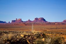 Free Monument Valley National Park, Arizona Royalty Free Stock Image - 35121796