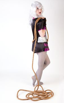 Costume And Rope Stock Image