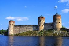 Free Olavinlinna Fortress Stock Photo - 35129830