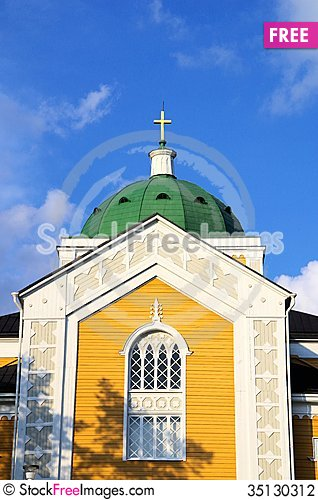 Free Kerimäki Church Stock Photography - 35130312