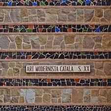 Free Art Modernista Catala Royalty Free Stock Photography - 35130497