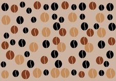 Free Coffe Beans Background Royalty Free Stock Image - 35133126