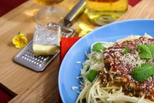 Free Spaghetti Royalty Free Stock Image - 35133676