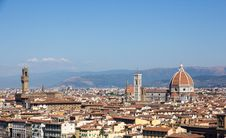 Free View Over Firenze Royalty Free Stock Images - 35133879