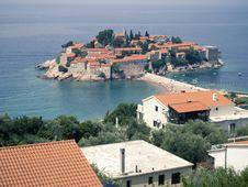 Free St. Stefan, Montenegro Stock Photography - 35138642