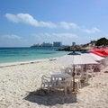 Free Beachside Umbrellas Stock Image - 35141281