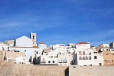 Free Mediterranean Town Royalty Free Stock Image - 35141696