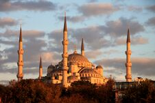 Free Istanbul Sightseing Blue Mosque Stock Images - 35144524