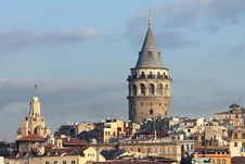 Free Istanbul Sightseeing Galata Tower Stock Photo - 35144640