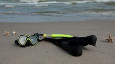 It S Time For Snorkeling! Royalty Free Stock Photography
