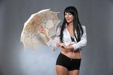 Free Under The Umbrella Stock Images - 35145094