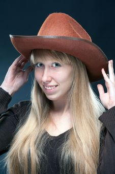 Free Cowgirl Royalty Free Stock Photography - 35145447